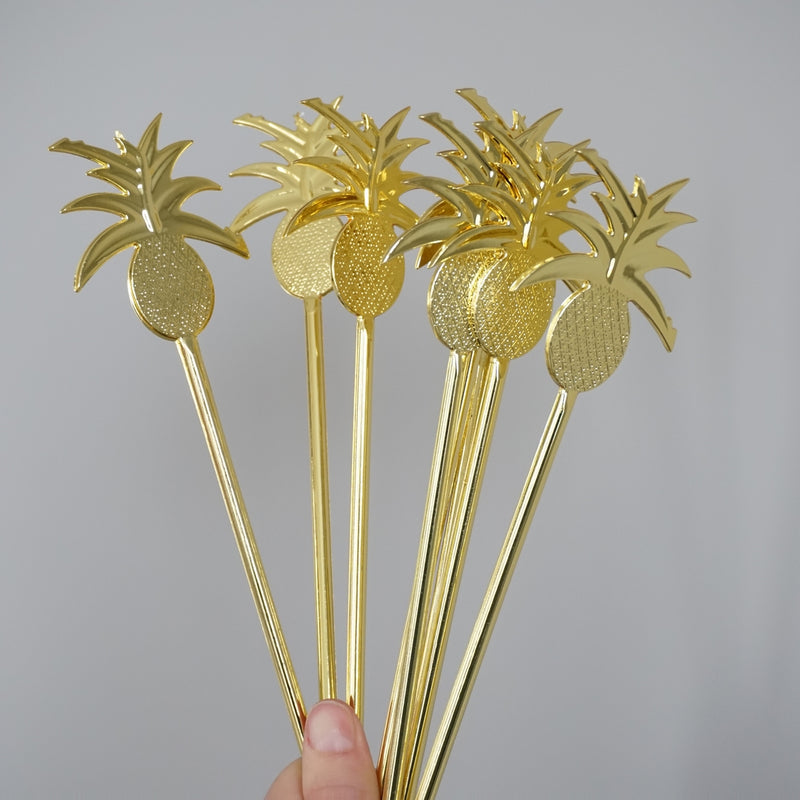 Party Partners - Pineapple Cocktail Stirrers
