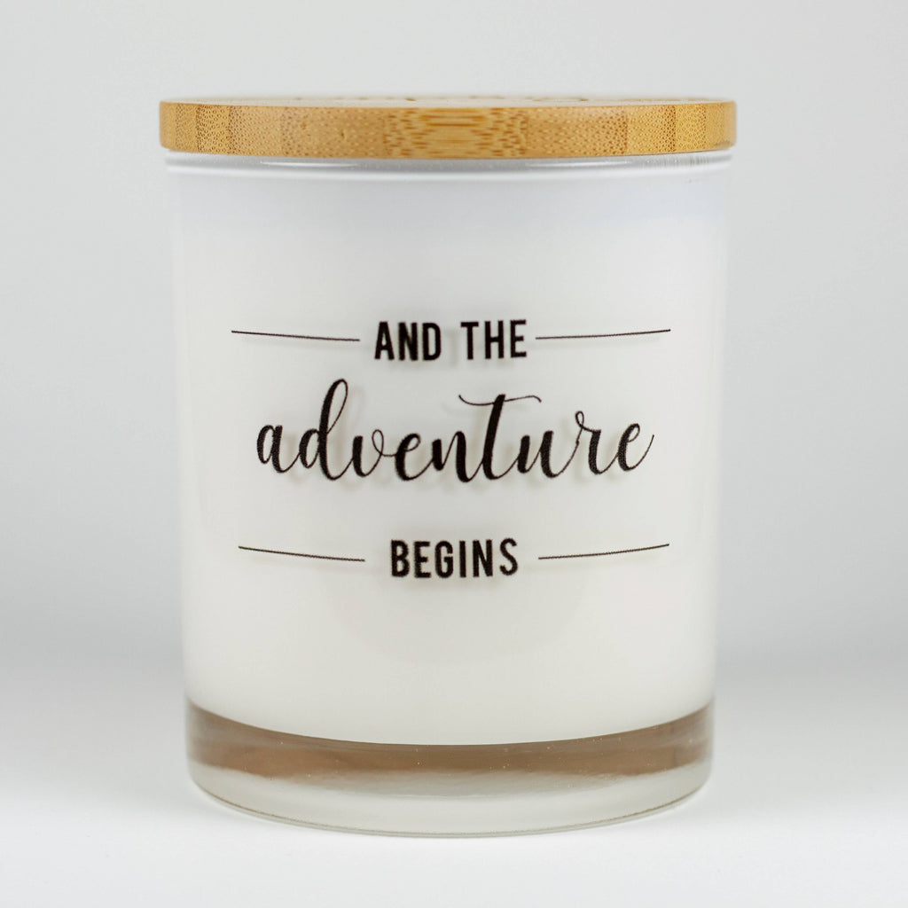 Soy Candle Adventure Begins