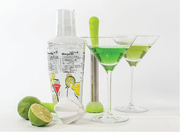 Recipe Cocktail Shaker Set