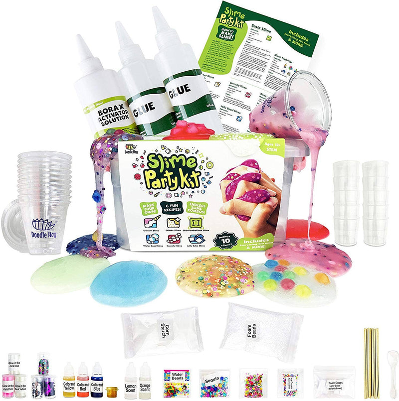 Doodle Hog - Slime Party Supplies Kit