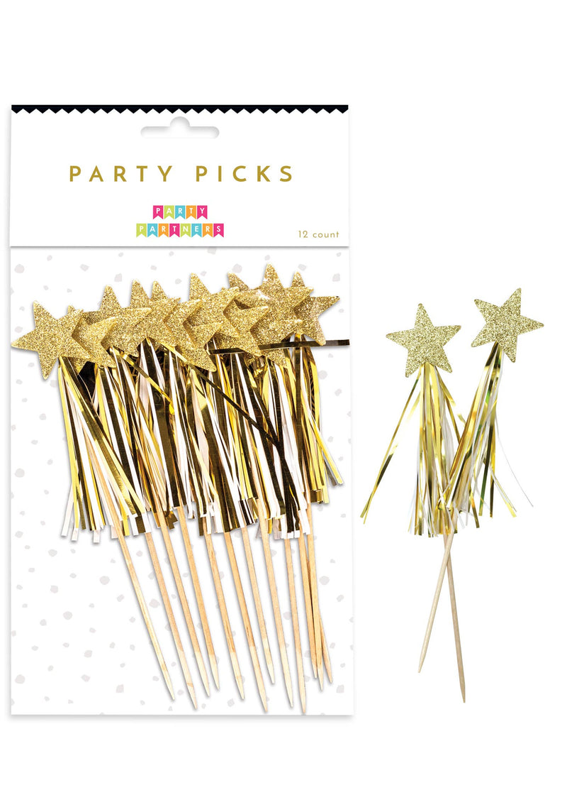Party Partners - Gold Star Party Picks