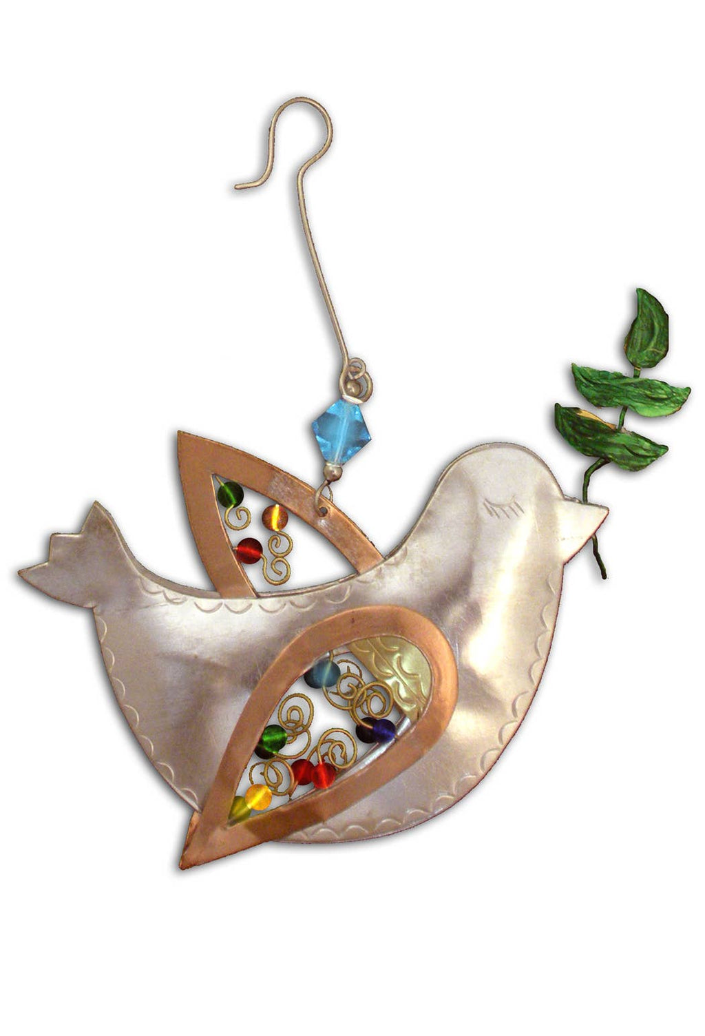 Peace Dove - Metal Ornament