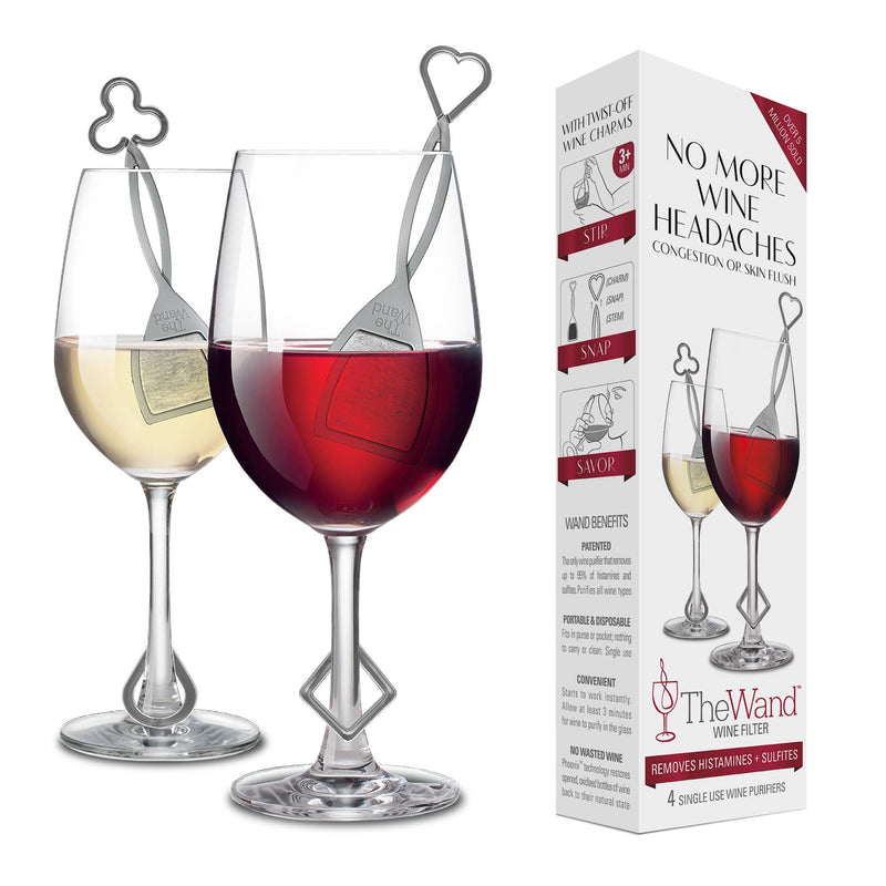 PureWine - The Wand™ Wine Purifier, 4-Pack