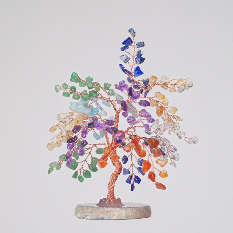 Karma and Luck Strength & Growth Feng Shui Chakra Symbols  Tree - Large