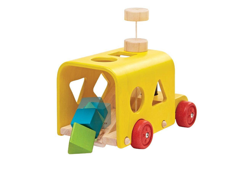 PlanToys - Sorting Bus