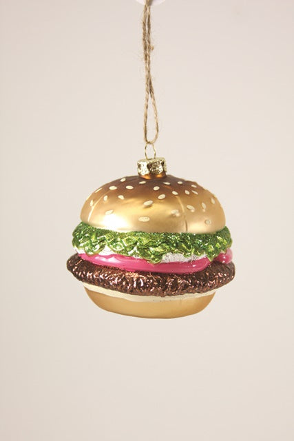Cody Foster Ornament Hamburger