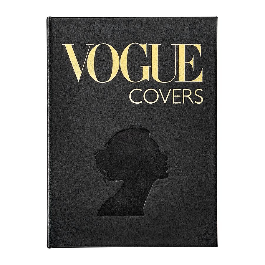 Vogue Covers Leather Book