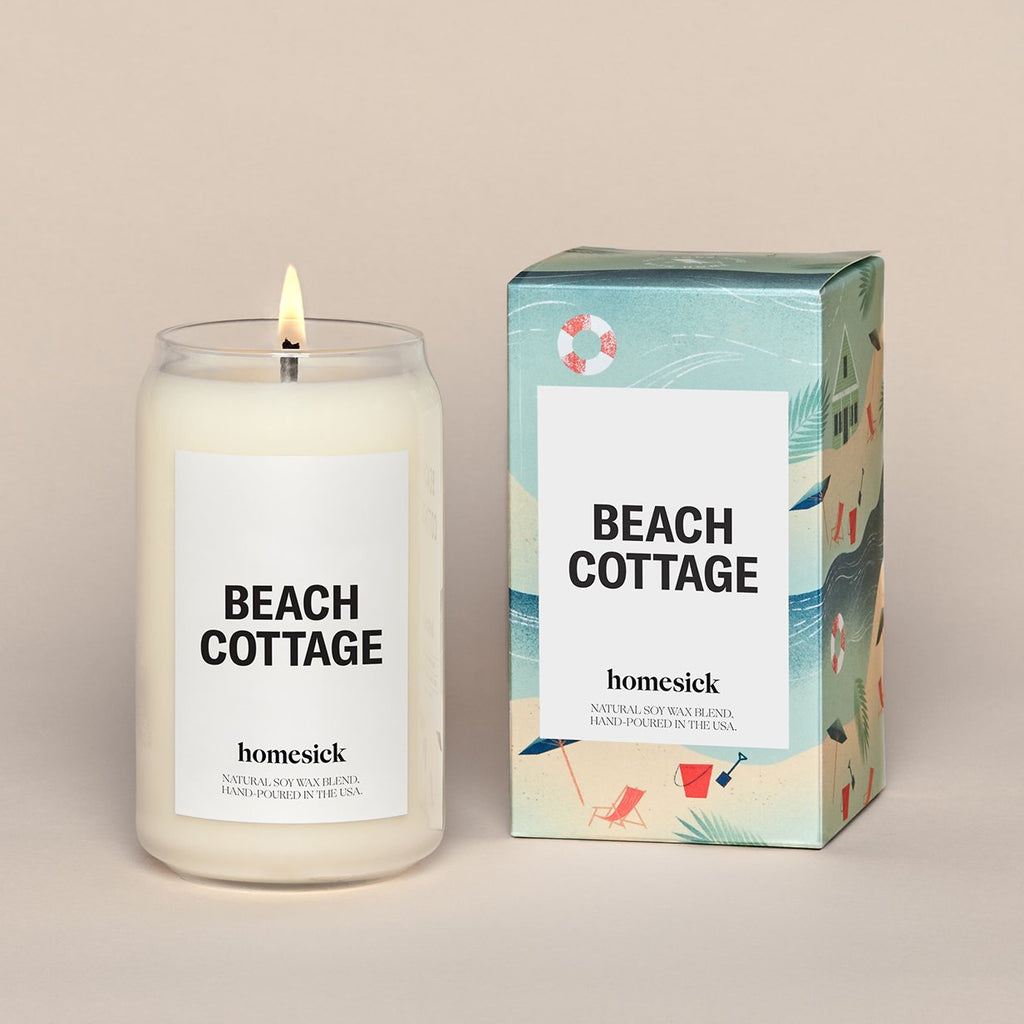 Homesick Candle Beach Cottage