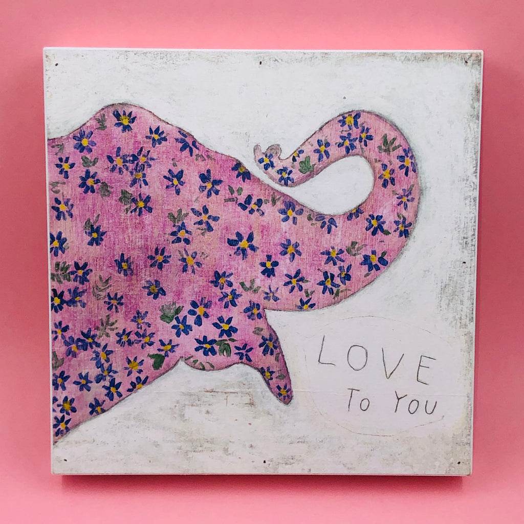 Wood Wall Art - Love To You