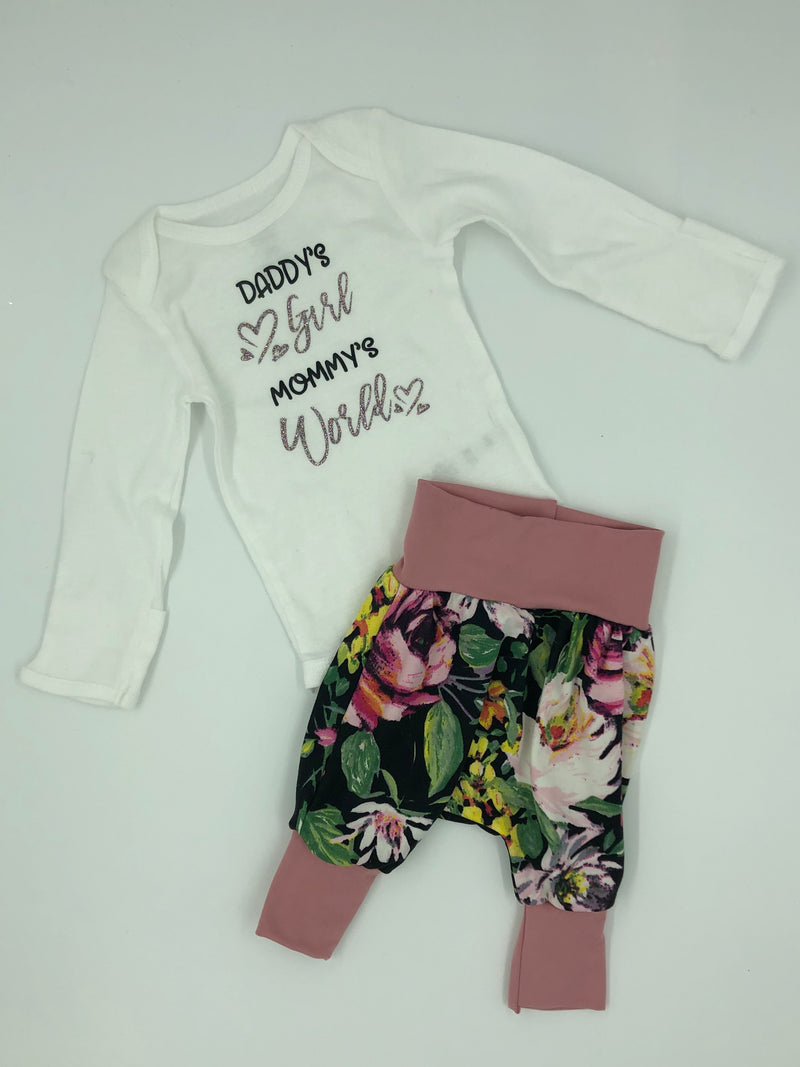 Long Sleeve Onesie - Daddy's Girl Infant Bodysuit