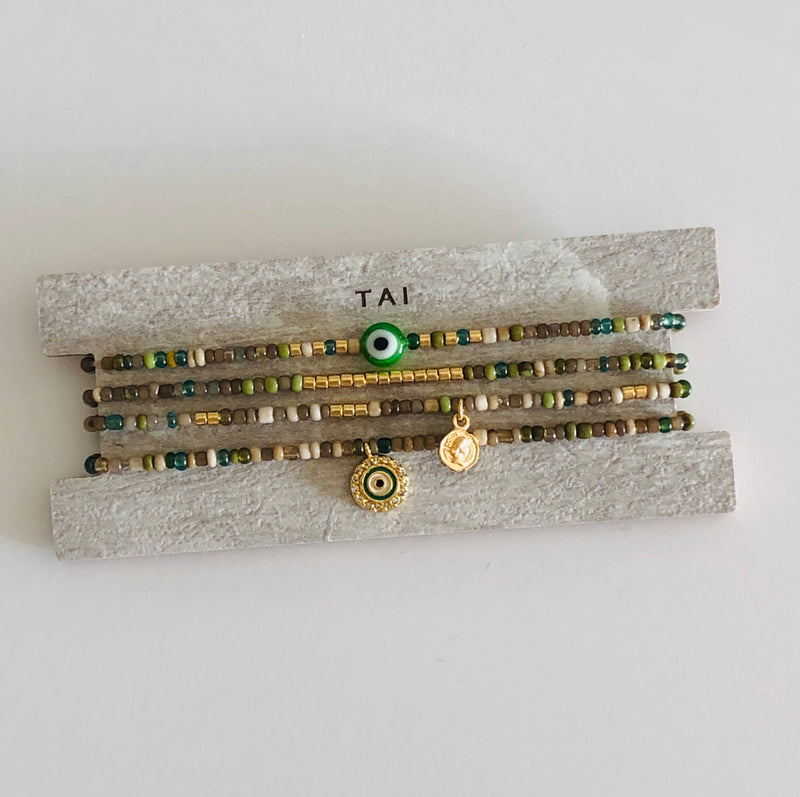 TAI Evil Eye Set/4 Bracelets