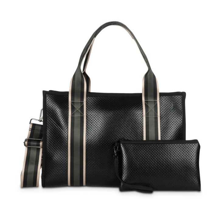 Haute Shore Isla Tote - Boss Black Champ/charcoal stripe