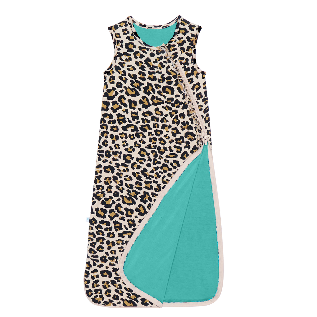 Posh Peanut Sleep Bag - Lana Leopard
