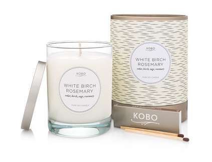 Kobo Candle - White Birch Rosemary