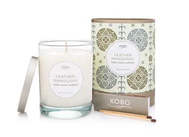 Kobo Candle - Leather Mahogany