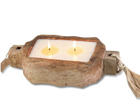 Himalayan Driftwood Candle Tray