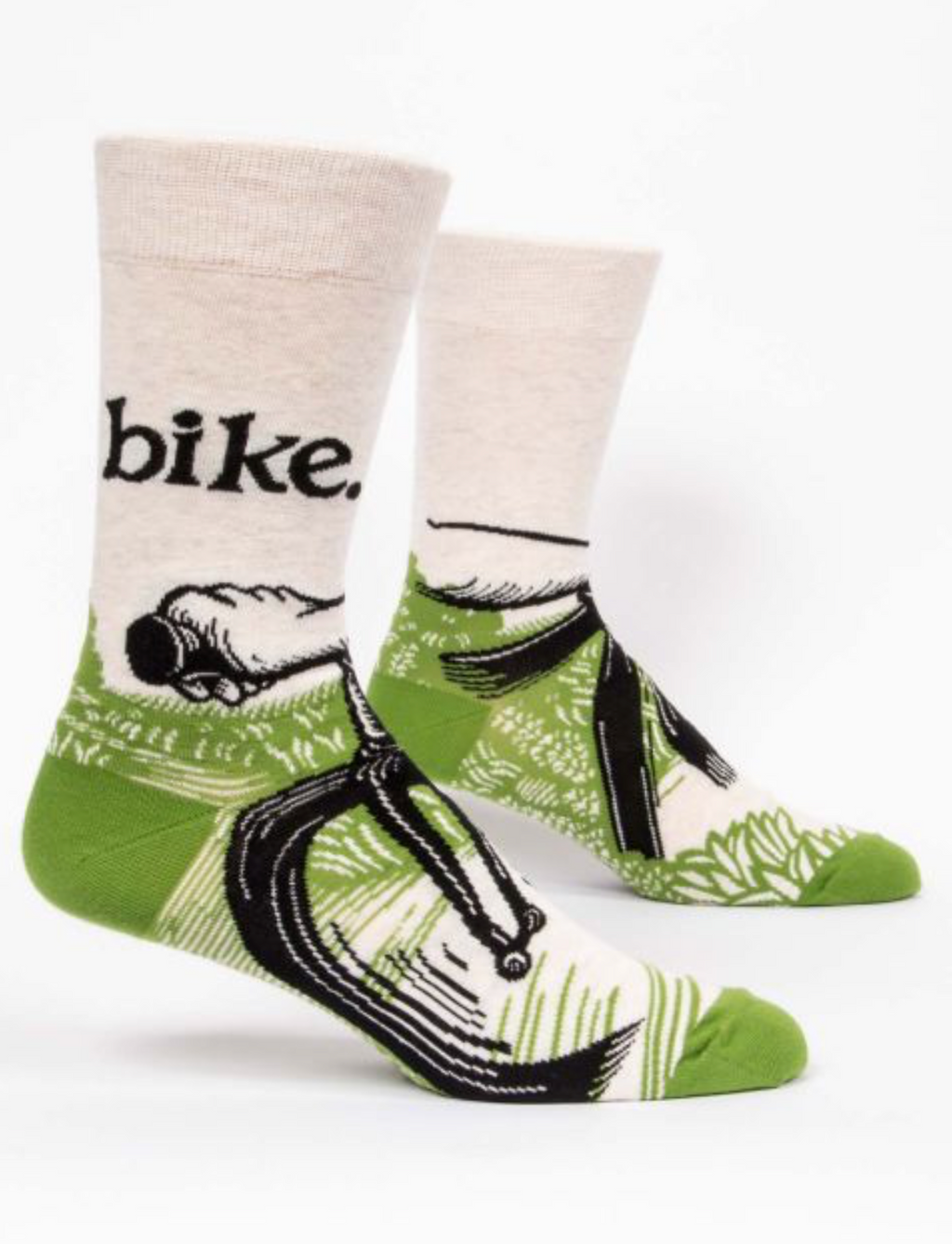 Blue Q Men's Socks- Bike