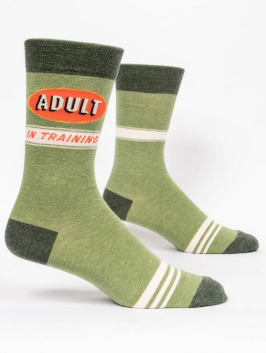 Blue Q Men's Socks- Adult in Training