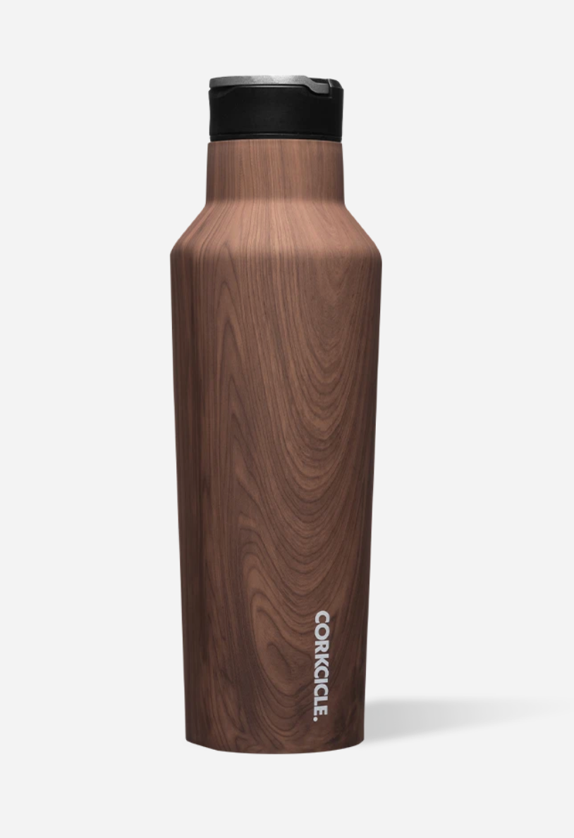 Corkcicle 40oz Sport Canteen Wood