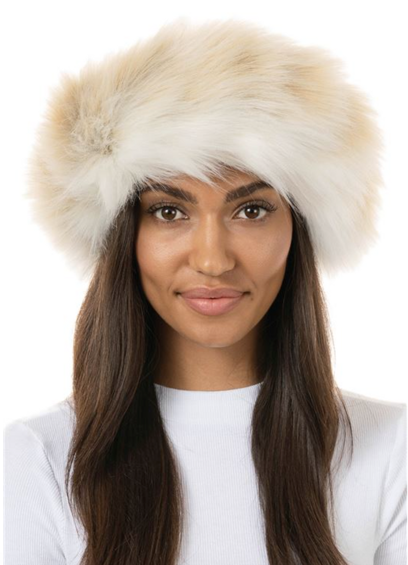Fabulous Furs Faux Fur Halo Headband - 4 Colors