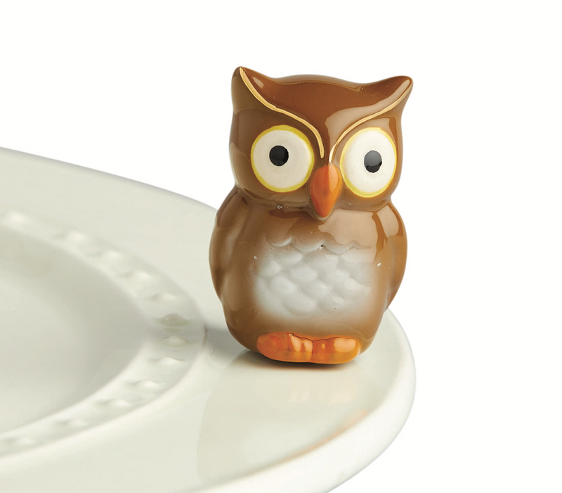 Nora Fleming Mini Be Whoo You Are Owl