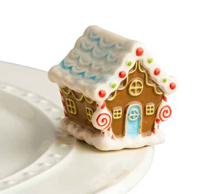 Nora Fleming Mini Candyland Lane Gingerbread House