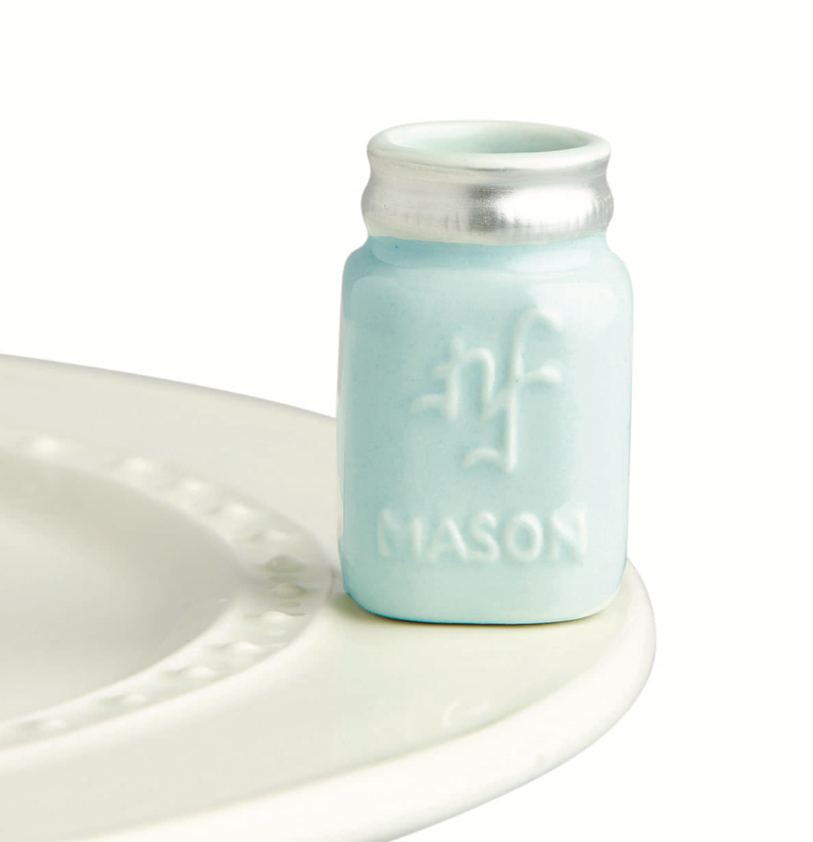 Nora Fleming Mini Mason Jar