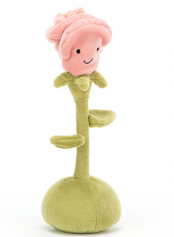 JellyCat Amuseable Flowerlette Rose