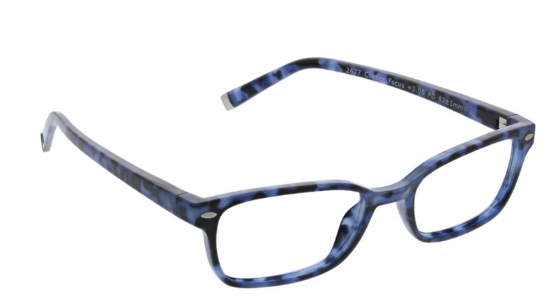 Peepers With Blue Light Cooper - Navy Tortoise