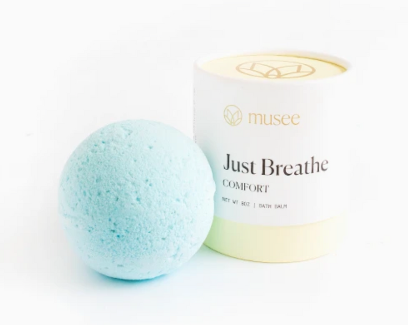 Musee Bath Bomb Just Breathe