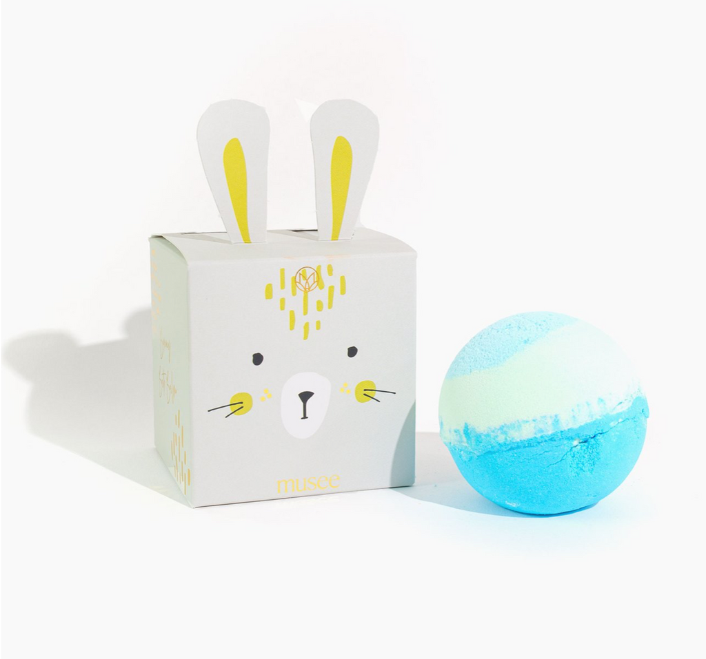 Musee Bath Bomb - Blue Bunny Boxed