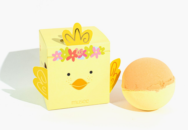 Musee Bath Bomb - Spring Chick Boxed