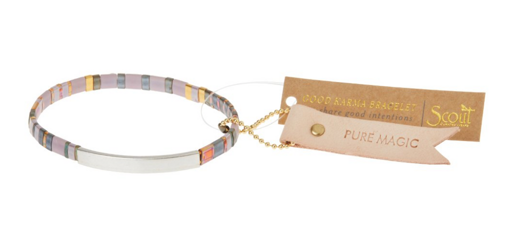 Scout Good Karma Tile Bracelet Pure Magic Dusk/Silver