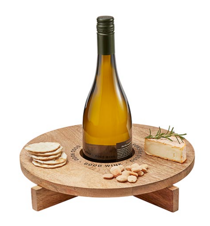 Wine Holder Cheese Board