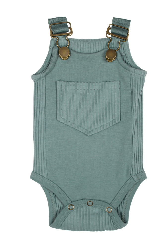 Loved Baby Ribbed Bodysuit - Jade