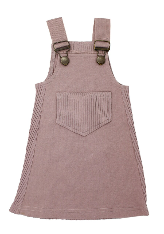Loved Baby Ribbed Tank Dress - Thistle