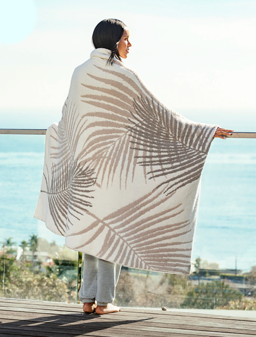 Barefoot Dreams Blanket - Palm Leaf