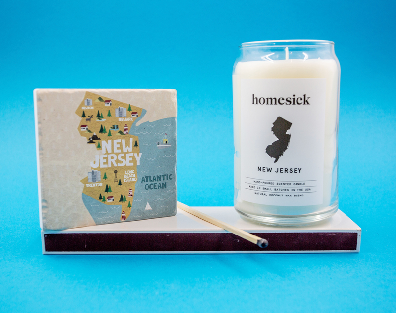 Homesick Candles - New Jersey