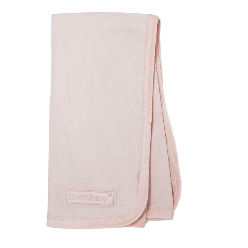 Loved Baby Velveteen Blanket - Blush