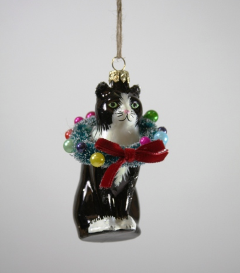 Cody Foster Ornament Holiday Cheer Cat