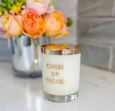 Chez Gagné - Cheer Up Fucker  Candle on the Rocks