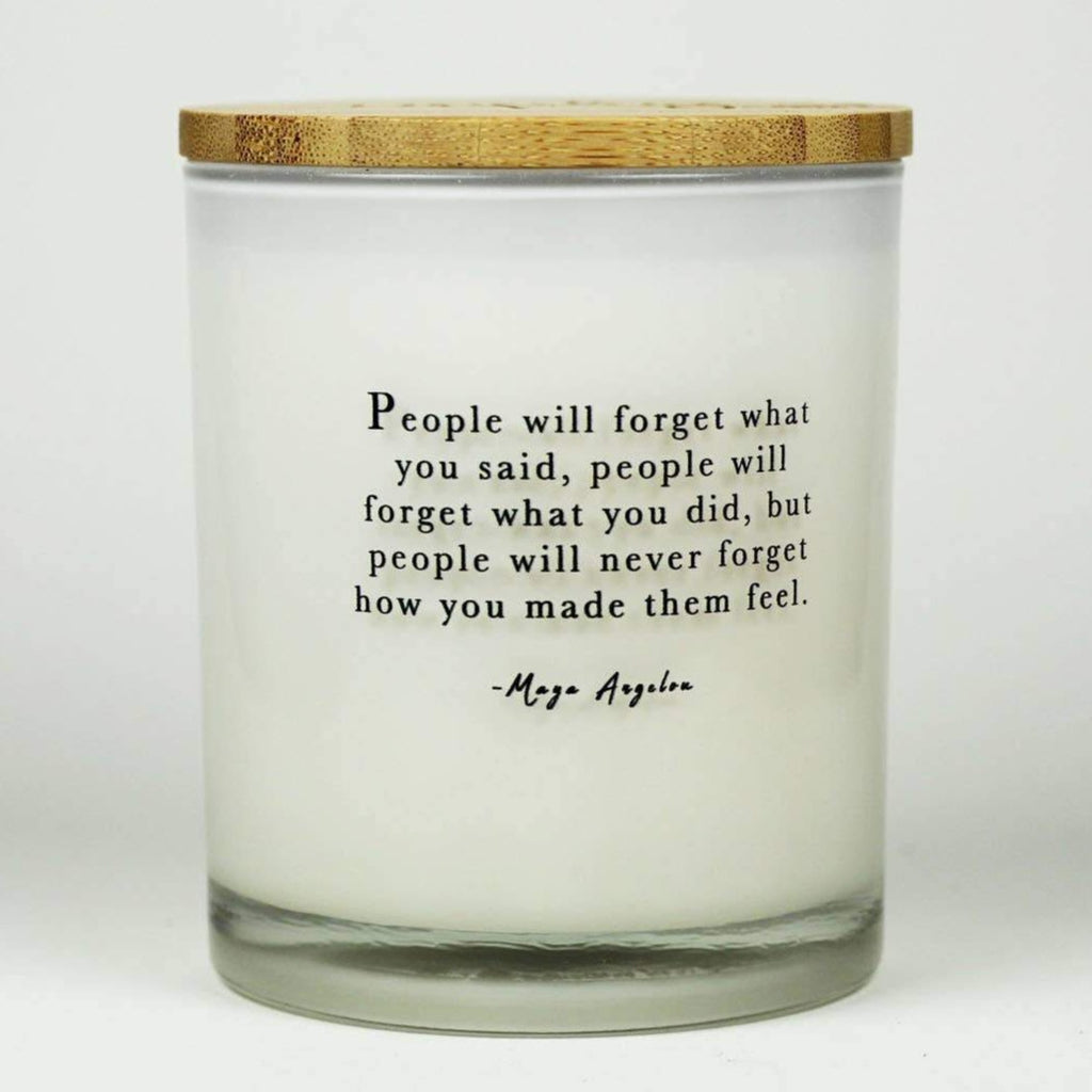 Soy Candles - Maya Angelou