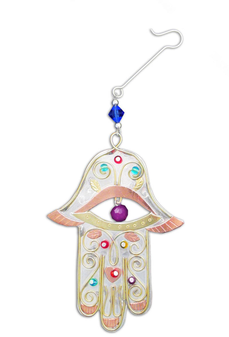 Pilgrim Imports - Peaceful Hamsa - Christmas Ornament