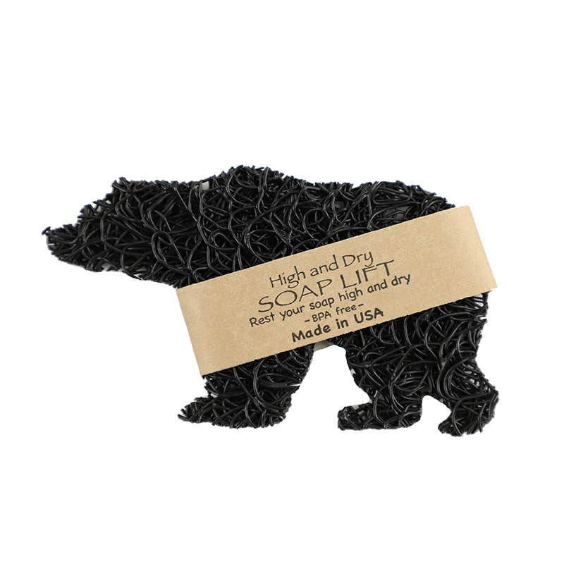 Soap Lift - Bear Soap Lift	 - Black