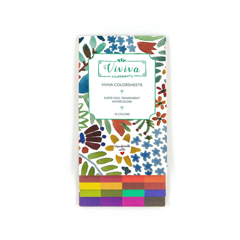 Viviva Colors - 70g Viviva Colorsheets - The Single Set