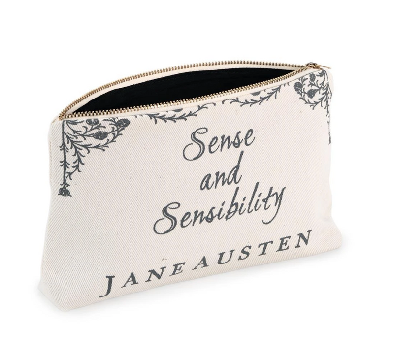 Book Zip Pouch - Sense and Sensibility