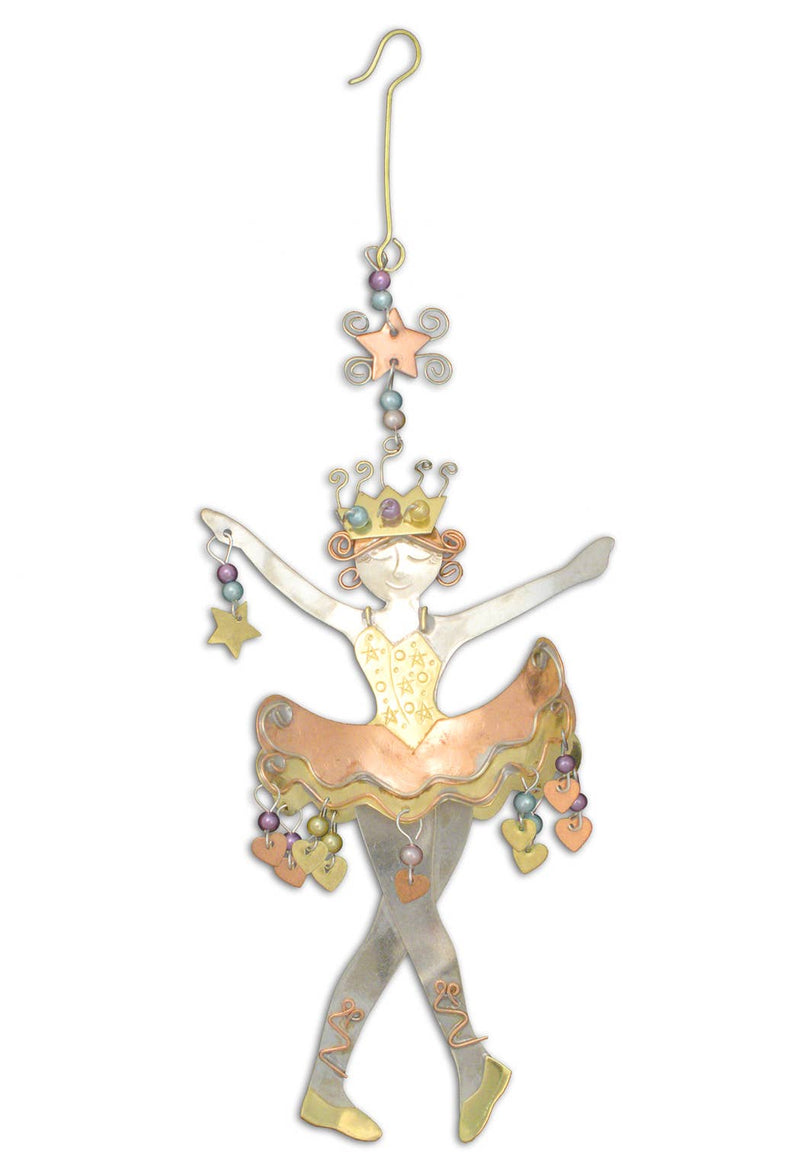 Sugarplum Fairy - Metal Ornament