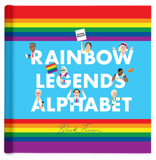 Alphabet Legends - Rainbow