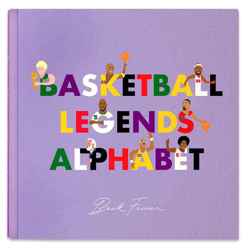 Alphabet Legends - Basketball
