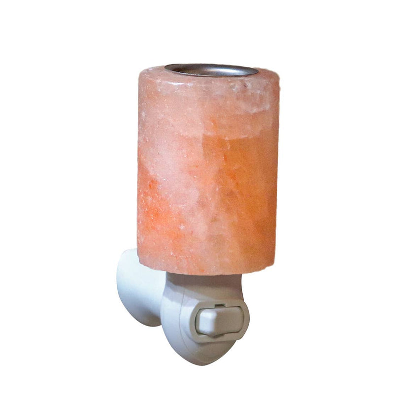 Himalayan Salt Aromatherapy Cylinder Shaped Night Light